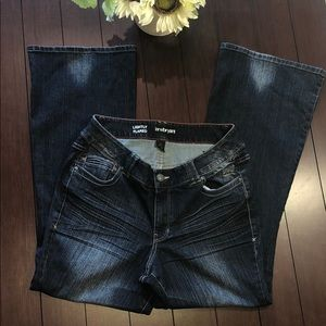 Lane bryant flared  jeans size 14
